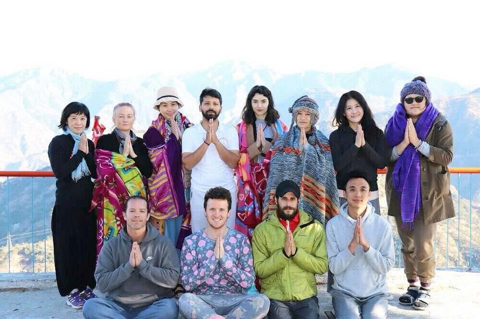 北印瑞詩凱詩 尋訪之旅 瑜伽&她的聖城